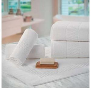 Jogo de Toalhas para Hotel Teka Madri Profiline Brancas 10 Peças
