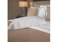Porta Travesseiro Matelado Branco (50x70cm) - Clássica Plus - Teka