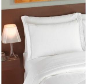 Fronha Branca com 2 abas (50x70cm) 200 fios - Imperial Plus Teka