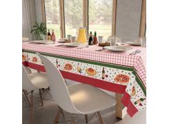 Toalha de Mesa Teka Basic Jantar Italiano 140cm x 140cm