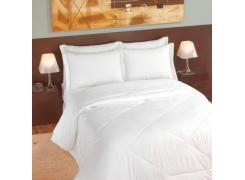 Colcha Casal Teka Imperial Soft Branca Matelassê 220cm x 240cm 50 Fios