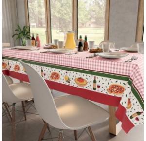 Toalha de Mesa Retangular Jantar Italiano (140x210cm) - Teka