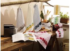 Kit Panos de Prato Teka Gourmet Chef e Limão 2 Peças 300g/m²