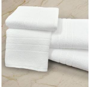 Toalha de Banho Para Hotel Teka Roma Branco 440g/m²
