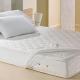 Lençol Protetor de Colchão Solteiro Teka Comfort Dry Branco 180 Fios