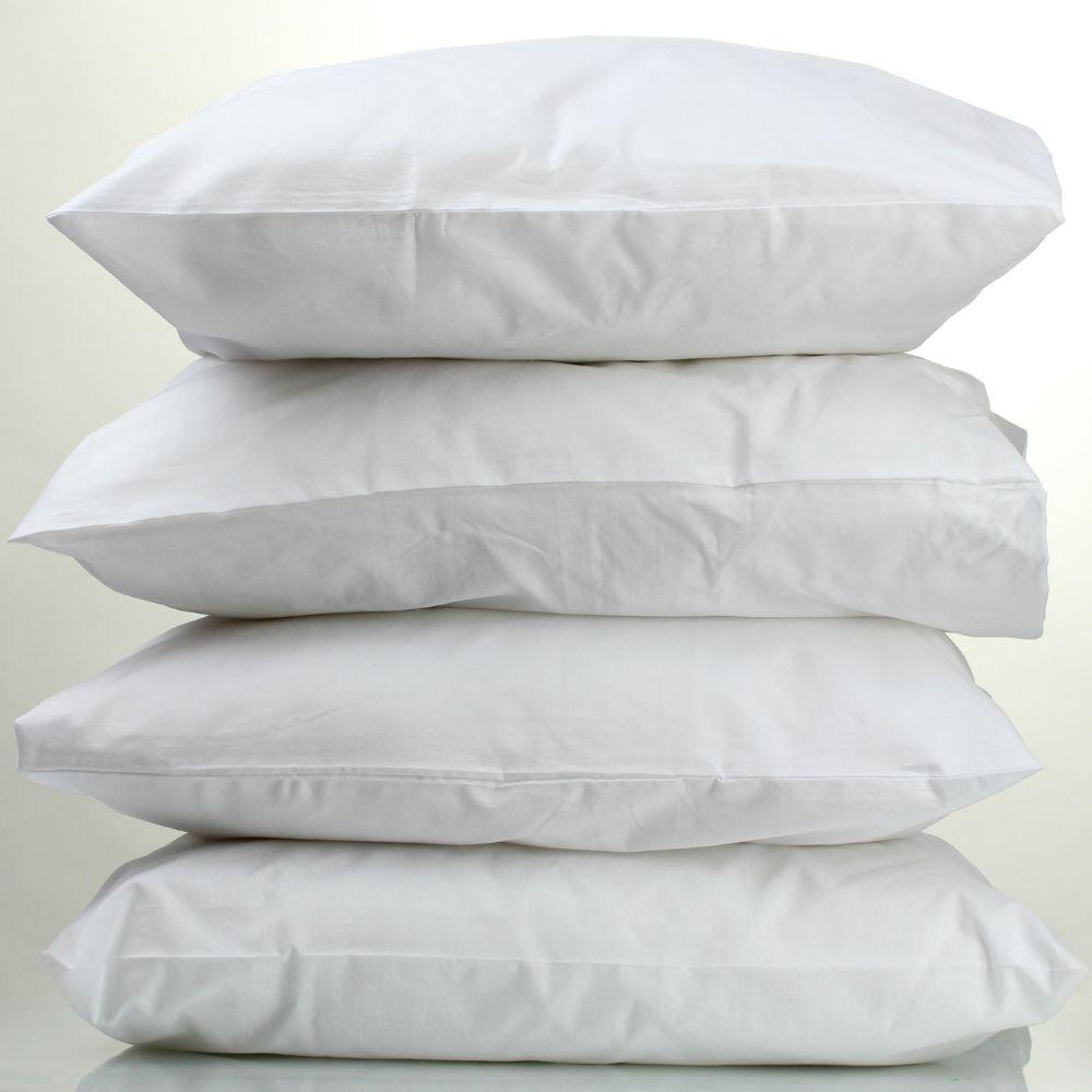 Kit Travesseiros Percal Teka Profiline com 4 Unidades 500g/m²