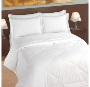 Lençol Queen Teka Madri para Hotel Branco 180 Fios