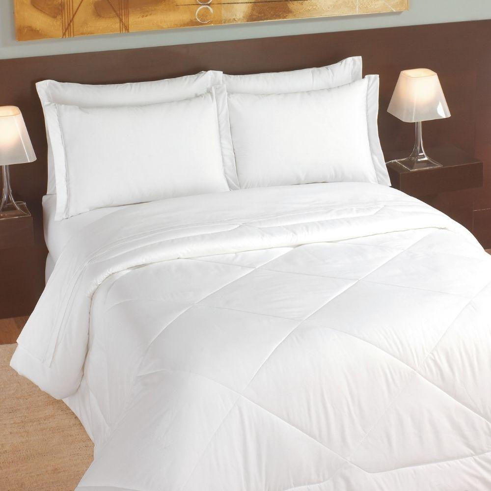 Lençol Queen para Hotel Teka Madri Branco 180 Fios