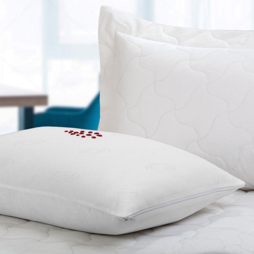 Protetor de Colchão Solteiro com Elástico Teka Comfort Dry Branco 200 Fios