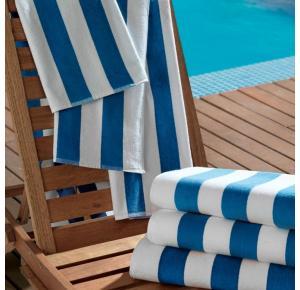 Toalhão para Praia e Piscina Teka Ibiza Azul Claro 450g/m²