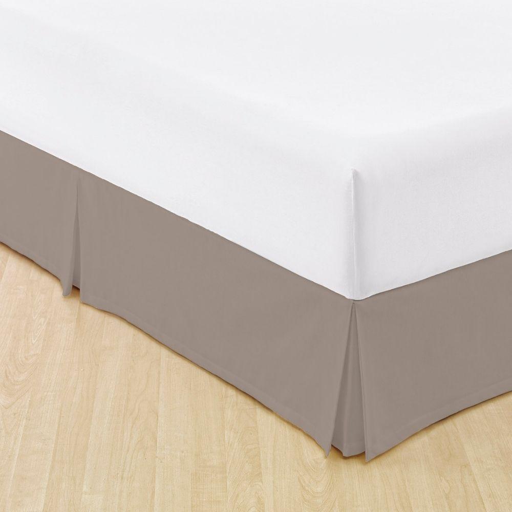 Saia Para Cama Box Casal Teka Easy Slim Marrom 205 g/m²