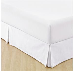 Saia para Cama Box Queen Teka Easy Branco 205 g/m²