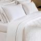 Lençol Branco Casal com aba - 250 fios-Safira