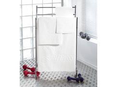 Toalha Esportiva Teka Fitness Branca 25cm x 86cm