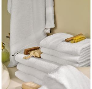 Toalha Banhão para Hotel Teka Safira Branca 670g/m²