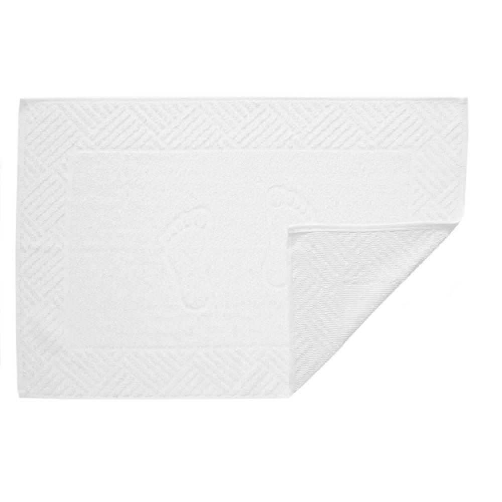 Toalha de Piso Teka Pezinho Branco 500g/m²