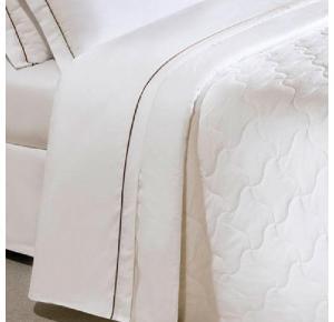 Cobre Leito Solteiro Branco Safira | Teka (160 x 240 cm)