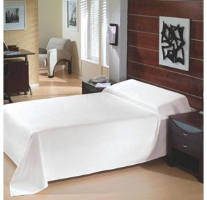 Colcha Casal Teka Clássica Branca  315 g/m²