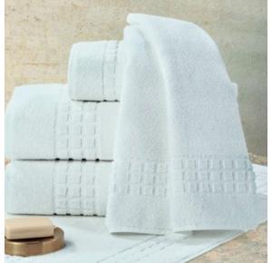Toalha Banhão Teka Toronto Branca para Hotel 500g/m²