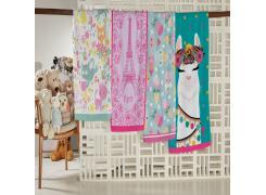 Toalha de Banho Infantil Teka Candy Paris 300g/m²