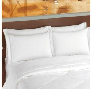 Fronha Branca com Abas Teka (50x70cm) 150 fios - Imperial Soft