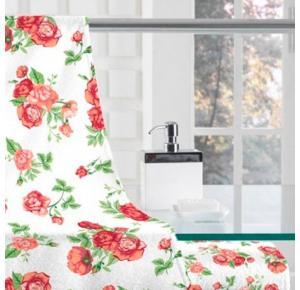 Jogo de Toalhas Floral Sandra - 280 g/m² ( 2 peças)