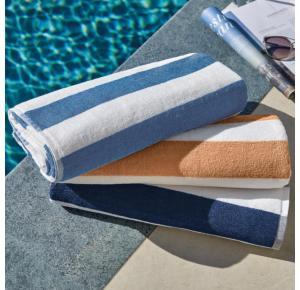 Kit 3 Toalhas de Praia e Piscina Teka Ibiza 450g/m²