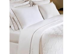 Lençol Branco Queen - 250 fios-Safira