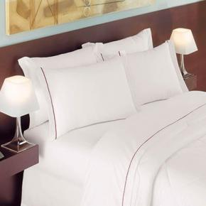 Kit Lençóis para Hotel King Teka Toronto Profiline Brancos 10 Peças 200 Fios