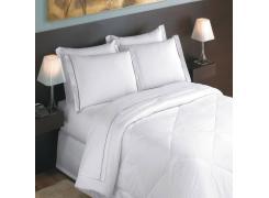 Kit Lençois para Hotel King Teka Toronto Branco 10 Peças
