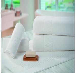 Toalha de Rosto para Hotel Teka Madri Branca 440/m²