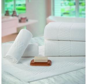 Toalha Banhão Para Hotel Teka Madri Branca 440g/m²