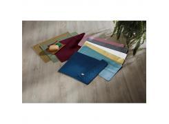 Toalha de Piso Teka Pezinho Antiderrapante Azul Marinho 46cm x 70cm