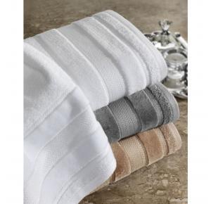 Toalha de Rosto Teka Prima Delicatta Branca Aveludada 45cm x 80cm