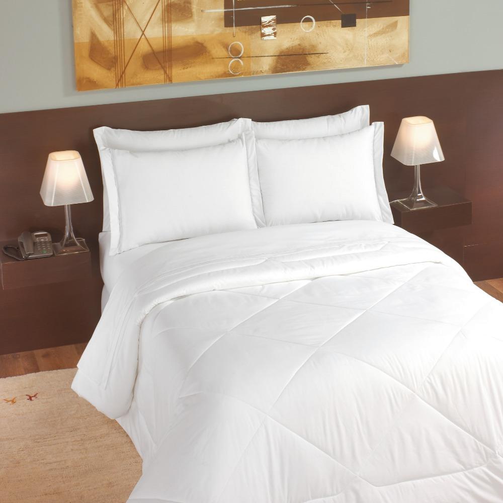 Lençol Solteiro Para Hotel Teka Clássica Plus Profiline Branco 180 Fios