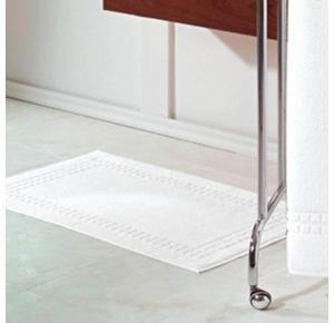 Toalha de Piso Branca Golden (48X80cm) - Teka