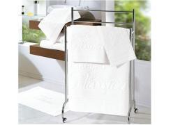 Toalha de Banho Extra G Branca Milão - 580 g/m²