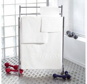 Toalha de Visita Teka Fitness Branca 440g/m²