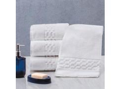Toalha de Banho Branca com Barra Decorada Prima Delicatta - 600g/m²