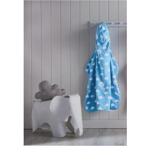 Toalha Infantil com Capuz Teka (75x90 cm) - Coleção Teka Kids