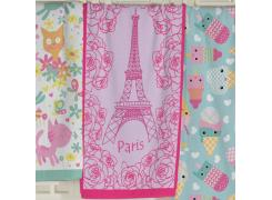 Toalha de Banho Infantil Teka Paris Felpuda 65cm x 115cm