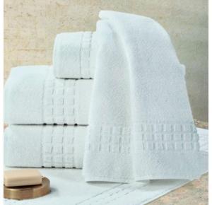 Toalha de Rosto Teka Toronto Profiline Branca 48cm x 85cm