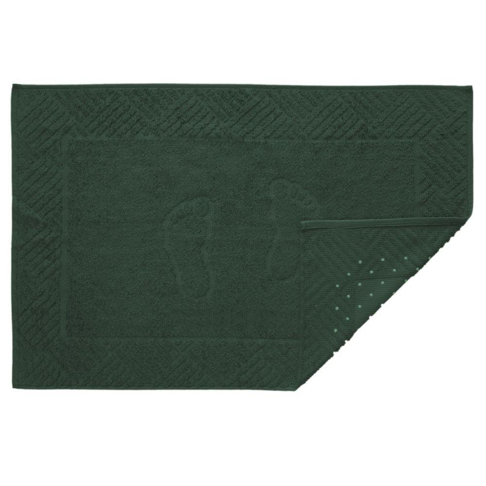 Toalha de Piso Antiderrapante Teka Pezinho Verde 500 g/m²